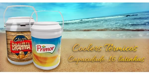 Coolers Térmicos Capacidade: 16 latinhas
