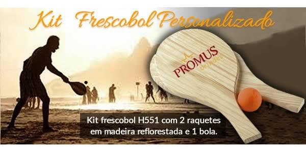 Kit   Frescobol Personalizado