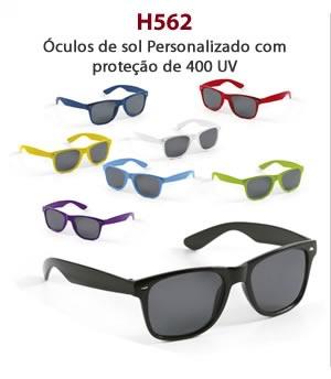 H562 - Óculos de sol Personalizado com proteção de 400 UV