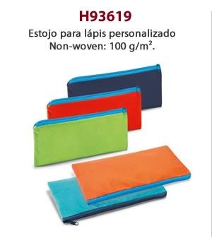 H93619 - Estojo para lápis personalizado Non-woven: 100 g/m².