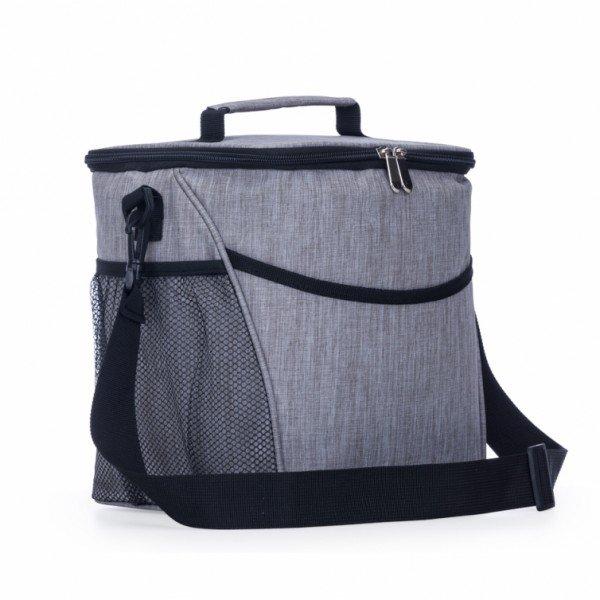 62fd118c1 Bolsa térmica 12 litros de material poliéster com detalhes em nylon  Personalizada para Brindes H1201 - Brindes ...