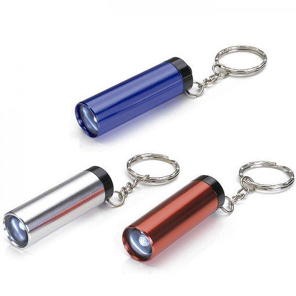 Chaveiro Lanterna em alumínio com LED Personalizado para Brindes H674 -  Brindes Personalizados é Promus Brindes 1b7d3879b5