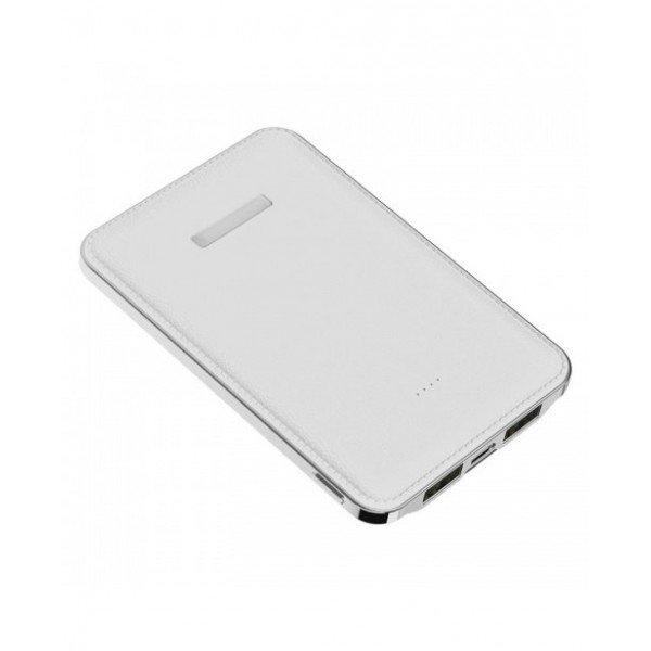 8f2199352 Power Bank Personalizado Slim 2 USB 5000mAh H1510 - Brindes Personalizados  é Promus Brindes