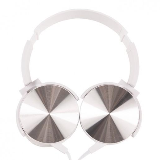 Fone de ouvido bass estéreo articulável com microfone H1270 - Brindes Personalizados é Promus Brindes