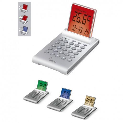 Calculadora Relógio Multifunções Personalizado para Brindes H257 - Brindes Personalizados é Promus Brindes